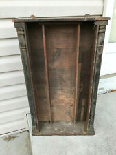 Antique OGEE Column Two Weight Shelf Clock Case for Project / Parts