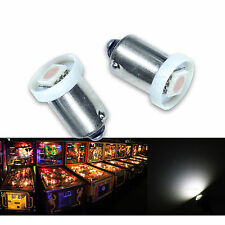 30x #1893 #44 #47 #1847 BA9S 1 SMD LED Pinball Machine Light Bulb White 6.3V P2