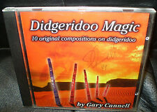AS NEW SIGNED 1999 DIDGERIDOO MAGIC BY GARY CANNELL CD