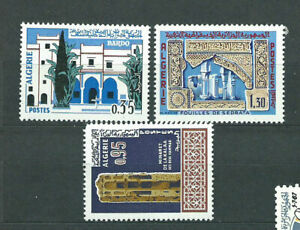 Algeria - Mail Yvert 441/3 MNH Muslim Art