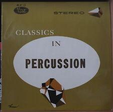 "GENE KRUPA ""CLASSICS IN PERCUSSION""  RARE ORIG FRENCH LP"