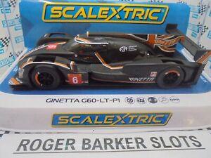 Scalextric C4264 Ginetta G60-LT-P1 Silverstone 4hours 2019 #6 Lights/DPR   BNIB