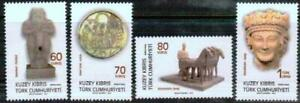2015 -UNMOUNTED MINT -CYPRUS ARCEOLOGICAL ARTEFACTS