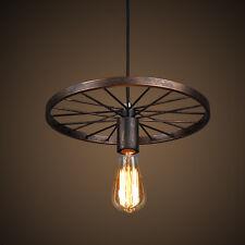 Vintage Pendant Light Brown Chandelier Lighting Bar Lamp Kitchen Ceiling Lights
