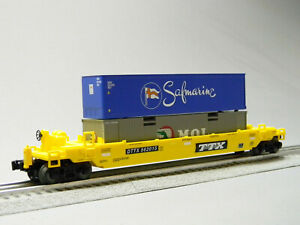 LIONEL TTX MAXISTACK FLATCAR rolling stock freight O GAUGE 1923050-M NEW