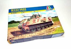 ITALERI Military Model 1/35 M163 VADS Vulcan Air Defence System Tank 6560 T6560