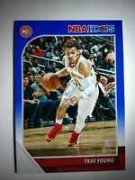 2019-20 NBA Hoops Trae Young Blue Parallel #1
