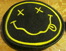 Nirvana Patch Collectable Rare 2015 Limited Production Cobain Smiley Face