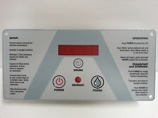 ThermaStor Phoenix 270 Dehumidifier Control Panel
