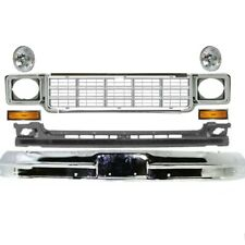 New Grille Bumper Headlamp Door Marker Front for Chevrolet C20 Suburban 73-80
