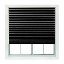 Redi Shade 36 x 72 in Cordless Window Blinds - Black