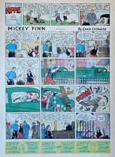 Mickey Finn by Lank Leonard - full tab page color Sunday comic - July 2, 1939