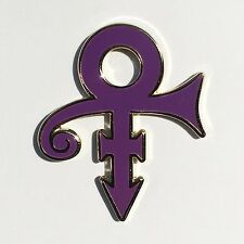 PRINCE enamel lapel pin purple rain npg revolution 1999