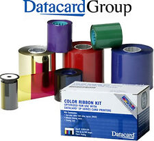Nastro Datacard 552954-502 Ribbon Dark Blue 1500 stampe - Originale