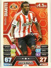 Match Attax 2013/14 Premier League - #273 Modibo Diakite - Sunderland