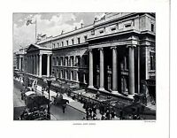 1910 PRINT ~ GENERAL POST OFFICE ~ THE CITY OF LONDON Walter Bessant