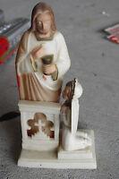 "RARE Vintage Hartland Plastics Jesus First Communion Girl Figurine 4 3/4"" Tall"