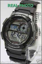 AE-1000W-1B Original Casio Men's Watch Standard Digital Black 10-Year Battery