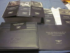2011 BENTLEY CONTI FLYING SPUR OWNERS MANUAL MANUEL DU PROPRIETAIRE NEW FRENCH