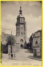 cpa Bretagne Breizh 22 - LAMBALLE (Côtes d' Armor) L' EGLISE SAINT JEAN Animée