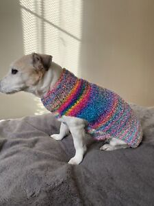 HandMade Jumper For Small Medium Size Dog 🐕 As Jack Russell Perfect Gift #Pink