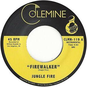 """Jungle Fire - Firewalker  (7"""") CLMN119"""