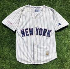 Rare VTG 90s Starter Cooperstown Collection New York Yankees Baseball Jersey L