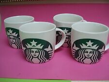 STARBUCKS COFFEE MUGS MODERN DESIGN SET 4 NEW