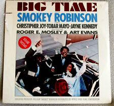 Smokey Robinson Big Time Soundtrack 1977 Motown # T6-355S1 SOUL DISCO Sealed LP