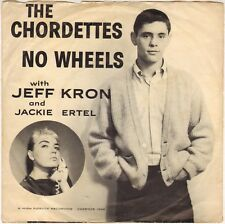 """THE CHORDETTES """"NO WHEELS"""" POP ROCK 50'S SP PROMO CADENCE 1366"""