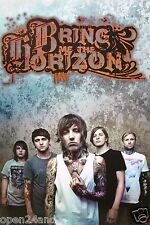"""BRING ME THE HORIZON """"OLIVER SYKES PULLING SHIRT"""" ASIAN POSTER - Metalcore Music"""