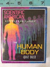 Scientific American: The Human Body Quiz Knowledge Card Deck