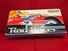 Rad Racer Nintendo Play Choice 10 Topper Sticker Original + Metal Tray