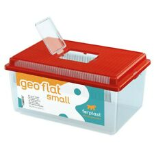 Ferplast Geo Flat Plastic Terrarium Small - Red