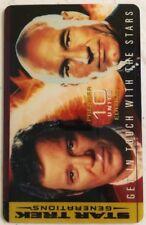 Star Trek - 10u - Captain Kirk - Captain Picard - Phone Card
