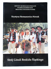 BOOK Polish Folk Costume ethnic peasant clothing goral highlander dress POLAND