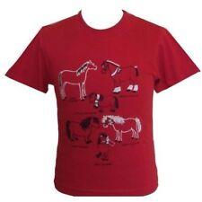 T-shirt rouge pour fille de 2 à 16 ans