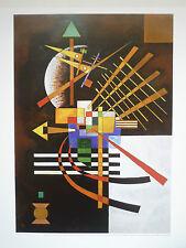 Bilddruck von Wassily Kandinsky Blattgröße 57 x 49 cm