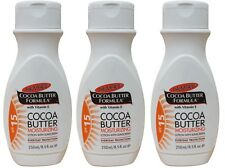 3 x Palmer's 250ml Cocoa Butter Formula MOISTURIZING Lotion with SPF15 sunscreen