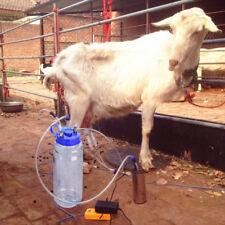 2L elettrico& manualmente Mungitrice per pecora /mucche US Plug 100-240V
