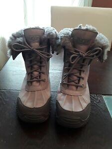 UGG Australia ADIRONDACK II Grey Gray WATERPROOF SHEEPSKIN BOOTS 3052 Womens 6