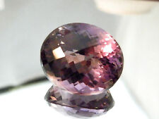 Large natural earth-mined certified amethyst oval gemstone...70 carat
