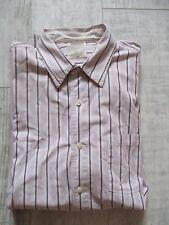 TIMBERLAND Men's STRIPED Long Sleeve SHIRT Size XXL Classic Fit PRISTINE 2XL
