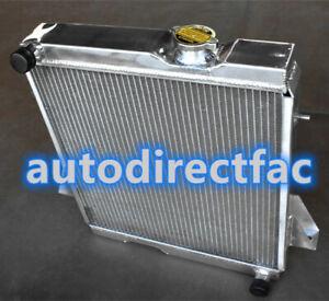 Aluminum Radiator for Triumph TR6 1969 -1974 73 72 71 / TR250 1967-1968 MT 3ROW