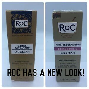 Roc Retinol Correxion Eye Cream 0.5 oz One Box