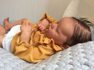 Reborn Doll Twin A Bonnie Brown With COA Complete Doll