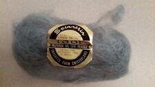 Spinnerin 1001 Mohair in the blend light blue #752 2 1oz balls NEW!
