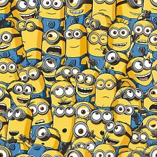 DESPICABLE ME MINIONS WALLPAPER ROLLS 10m NEW OFFICIAL