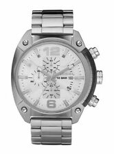 Runde Diesel Armbanduhren mit Datumsanzeige und Glanz