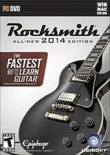 NEW Rocksmith 2014 Edition MAC/PC Video Game muse radiohead WITH REAL TONE CABLE